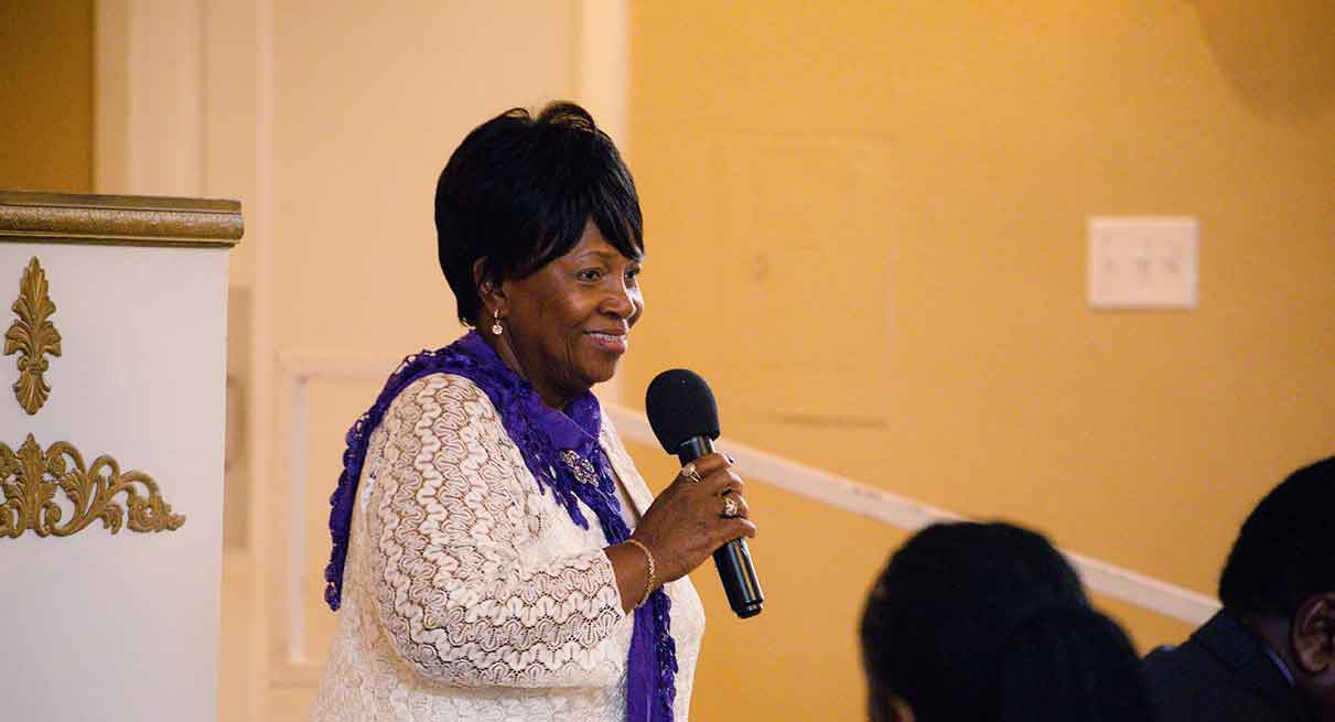 picture of Min. Sandra Henry